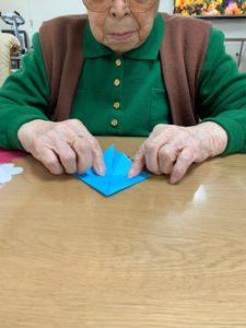 折り紙 カブトと金魚
