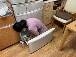 冷蔵庫大掃除