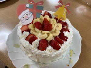 クリスマスケーキ 当日