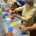 カラフル折り紙