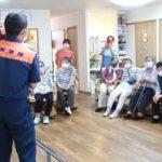 消防訓練・災害時の心得について